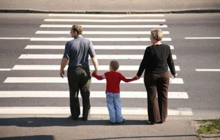 дети и дорога картинки