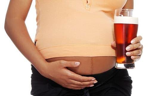 пиво нулевка при беременности
