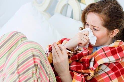 простуда первый признак беременности