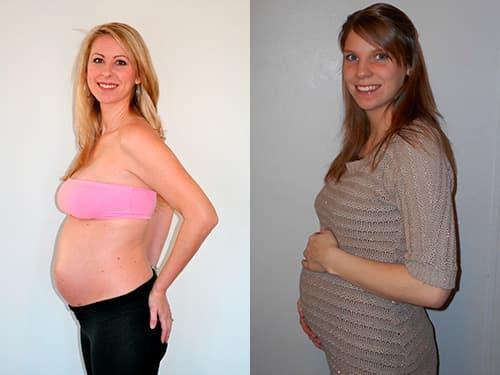 живот на 5 месяце беременности фото