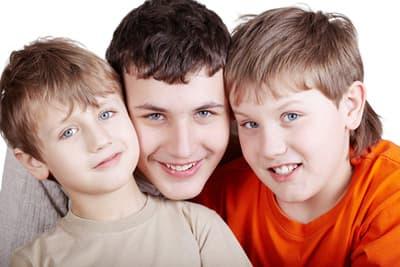 Мальчики и три стадии взросления