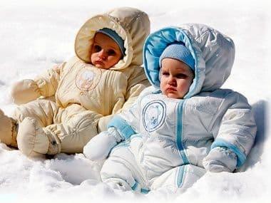 Зимняя одежда для малышей: советы как выбрать