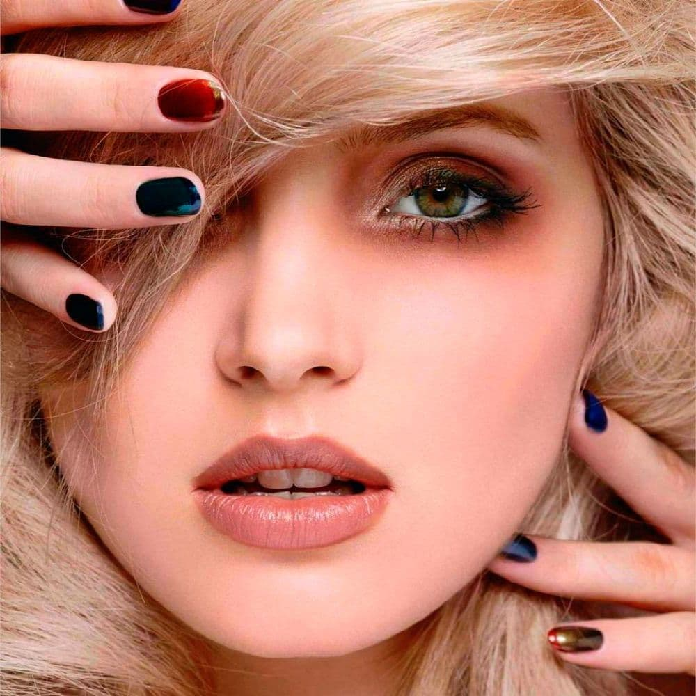 вот вставить фото и подобрать макияж сэкономите капли